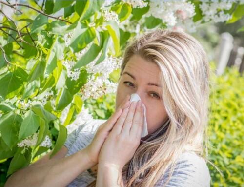 Εποχικές αλλεργίες ή αλλεργίες της άνοιξης.